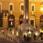 Fontana in piazza Pergolesi a Jesi