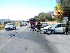 Incidente stradale a Numana