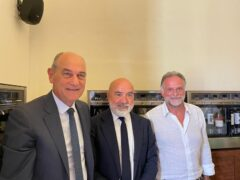 Massimo Garavaglia in visita nelle Marche