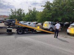Auto sequestrate a Castelferretti