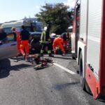 Incidente stradale a Loreto