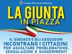 """Iniziativa """"La giunta in piazza"""""""