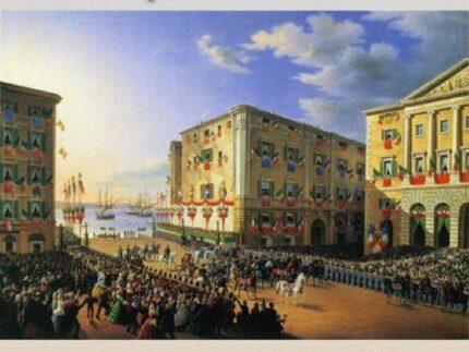"Quadro ""Vittorio Emanuele II ad Ancona"""