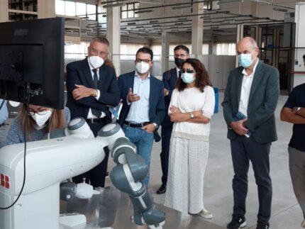 Laboratorio sull'industria 4.0 a Jesi