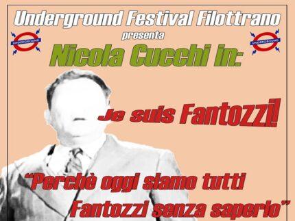 Appuntamento dell'Underground Festival dedicato a Paolo Villaggio