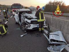 Incidente stradale lungo la SS76 nei pressi di Castelplanio